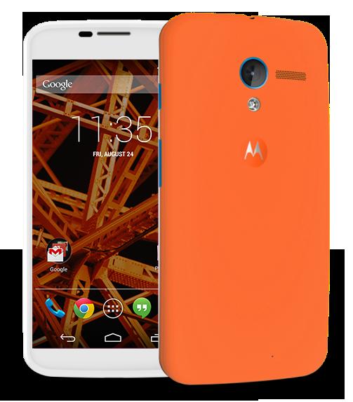 Moto-X-Orange