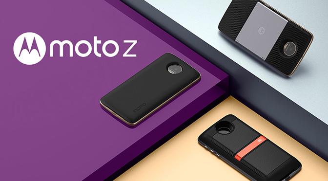 Встречаем новую линейку Motorola — Moto Z и Moto Z Force