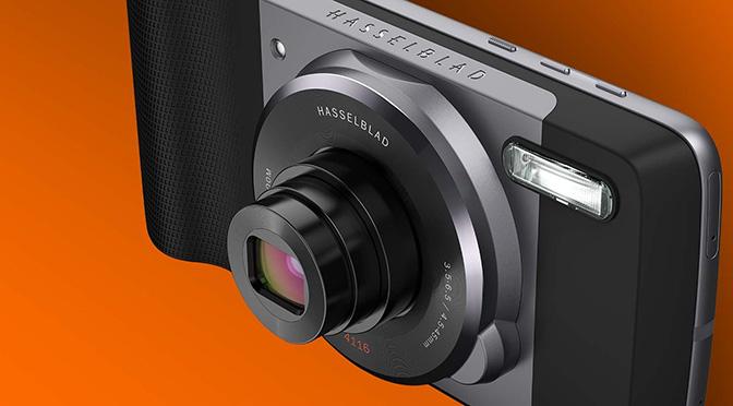 Представляем Hasselblad True Zoom — новый Moto Mod для линейки Moto Z