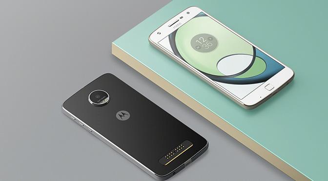 Представляем новый смартфон Moto Z Play